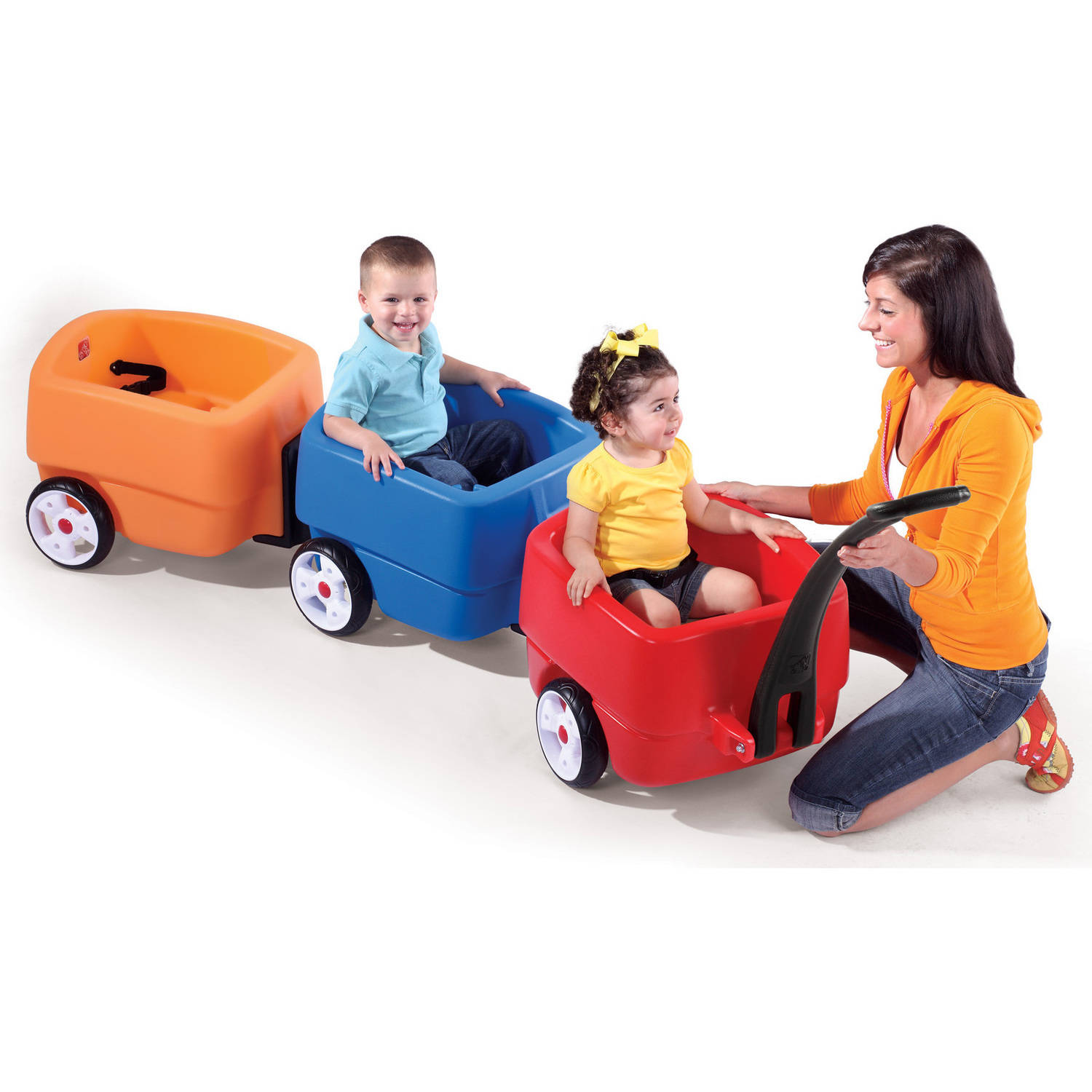 Step2 Choo Choo Trailer with seat belt and molded-in drink holder