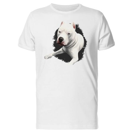 Dogo Argentino Relaxing Tee Men's -Image by