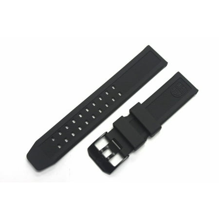 Replacement Rubber Watch Band Strap with PVD Black Buckle EVO Navy SEAL Colormark 3050 3950 8800
