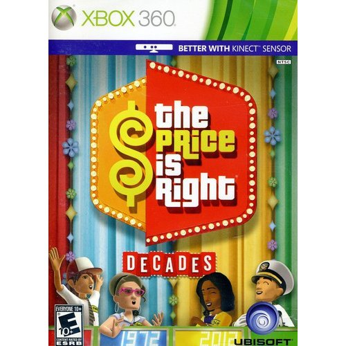 Virtuos The Price Is Right Decades (xbox 360)