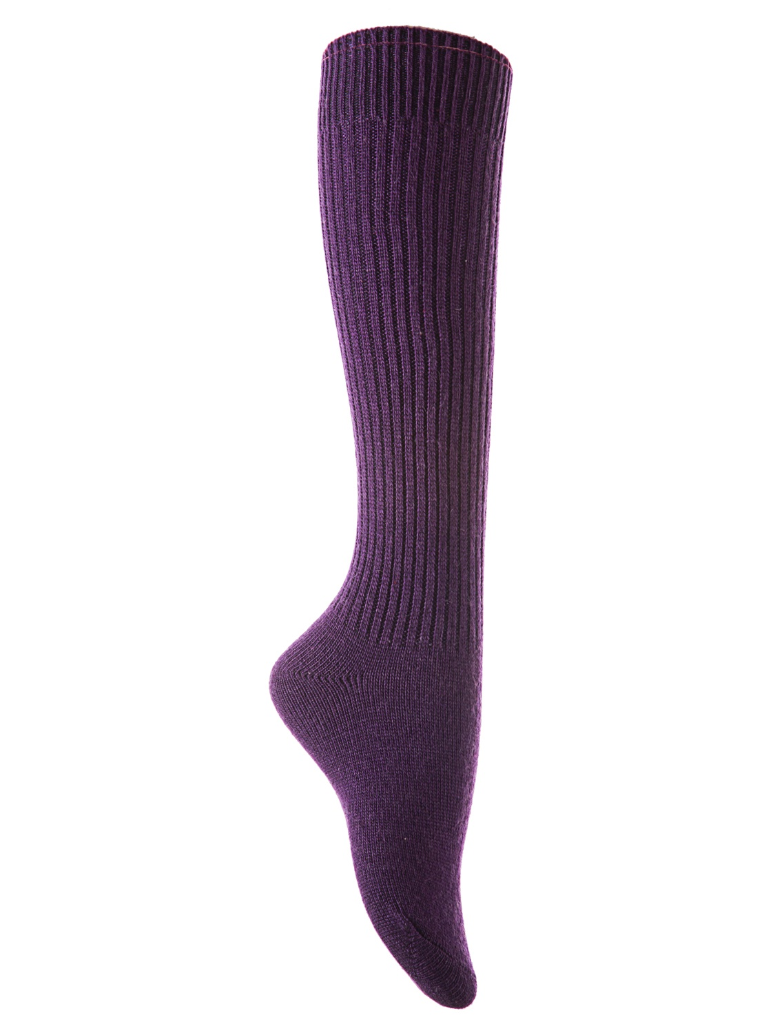 Lian Style Big Girl's 4 Pairs Knee-high Knitted Wool Socks Stripped FS05 Size 6-9(Assorted)
