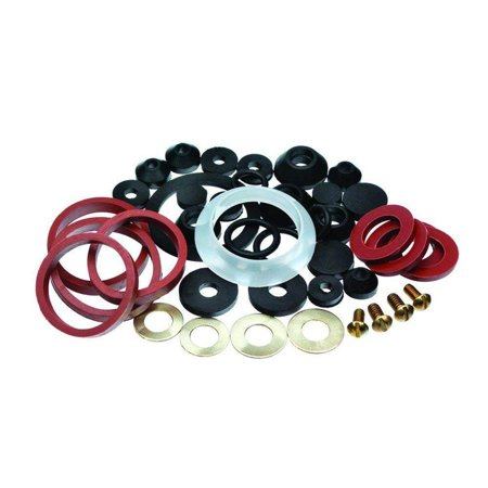 - Wideskall® Assorted Rubber Faucet Washers Assortment for Sink Faucet Repair