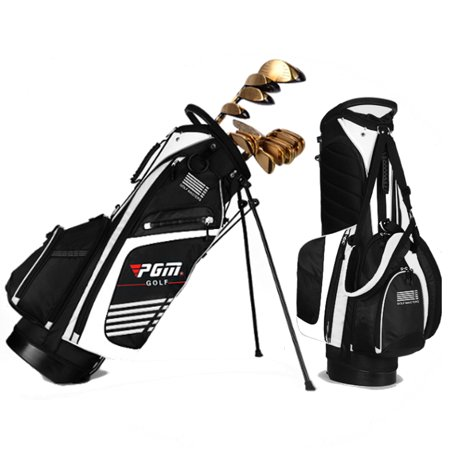 golf stand cart bag club with 14 way divider carry