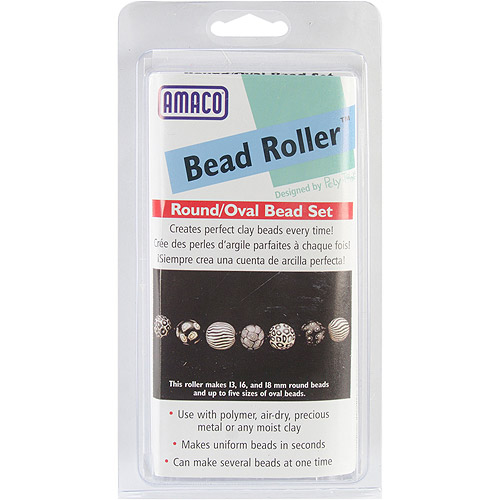 Amaco Bead Roller Set, 13mm, 16mm and 18mm Multi-Colored