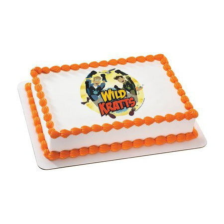 Wild Kratts Edible Icing Image For 6 Round Cake