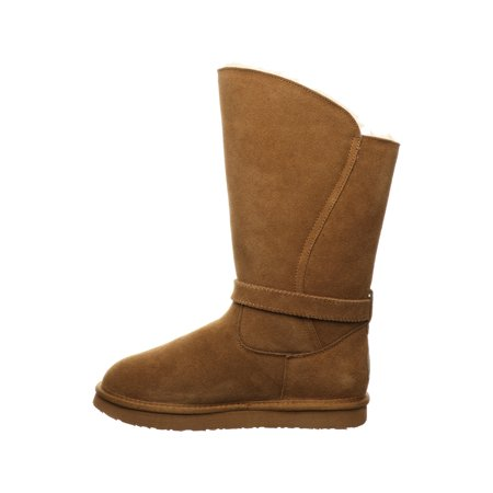 Pawz by Bearpaw Jessica Faux Fur Lined Suede Tall Boot (Women's)