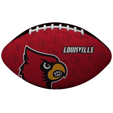 University Of Louisville Cardinal Football - University of Louisville Cardinals Gridiron Junior Size Football