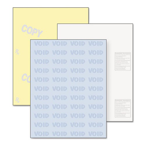 "Docugard Security Paper - For Laser, Inkjet Print - Letter - 8.50"" X 11"" - 32 Lb - 250 / Pack - Blue, Canary (04544)"