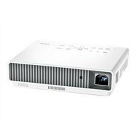 Casio XJ-M255 3000 Lumens 1280 x 800 WXGA 1800:1 3D Ready DLP Projector, White by