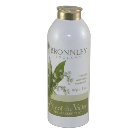 Bronnley Lily Of The Valley. Fragrance Talc 3.5 Oz / 100g for Women