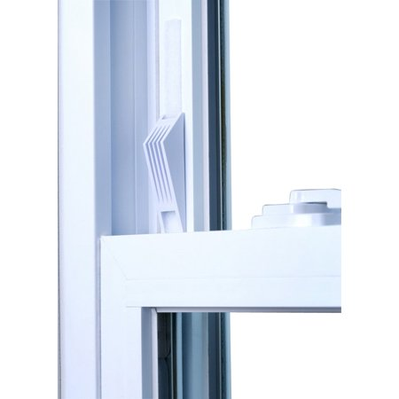 Window Wedge®, Adjustable Window Stop Secures Window for added Child Safety and Better Home Security (Tempered Safety Glass Window)