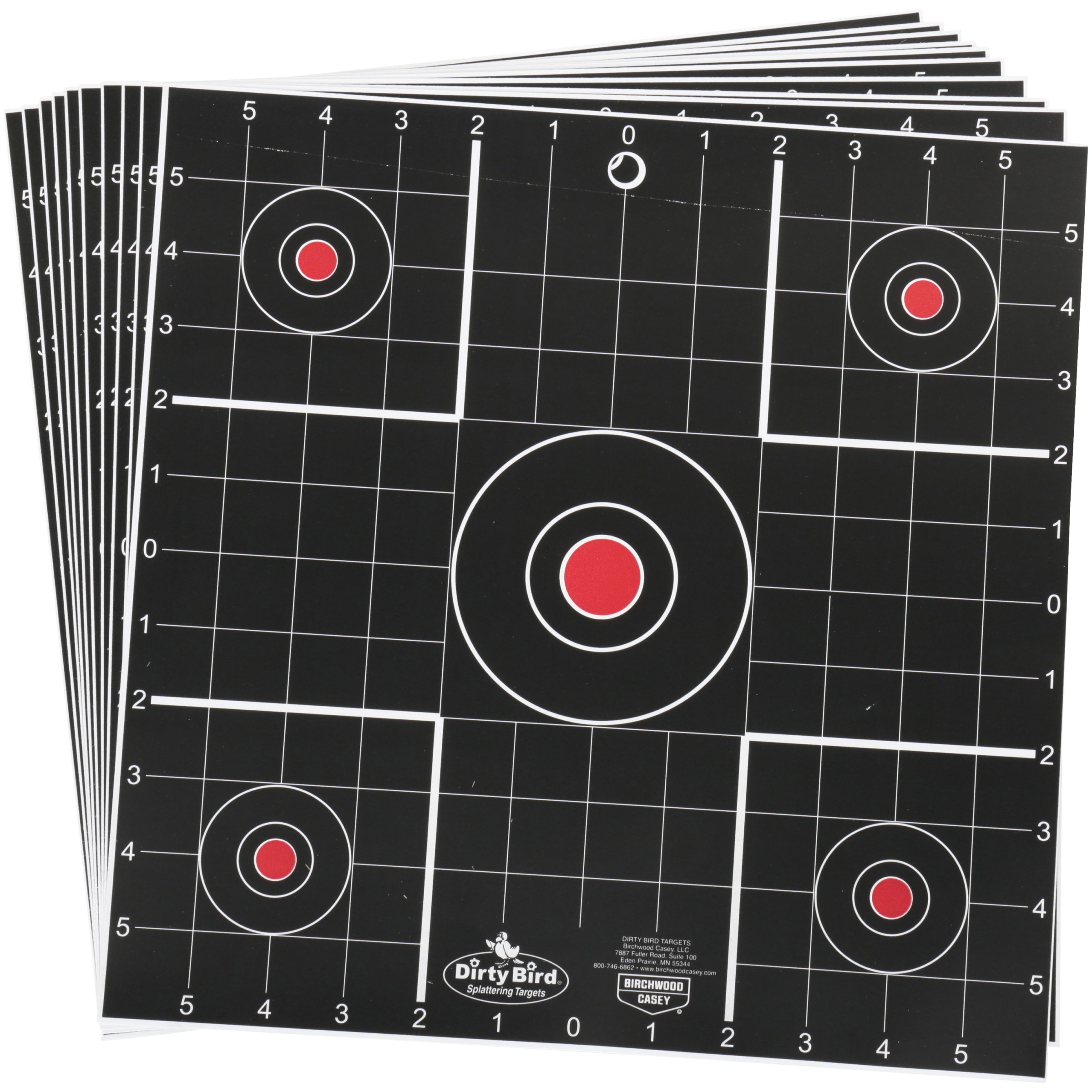 "Dirty Bird® 12"" Sight-In Target - 12 sheets"