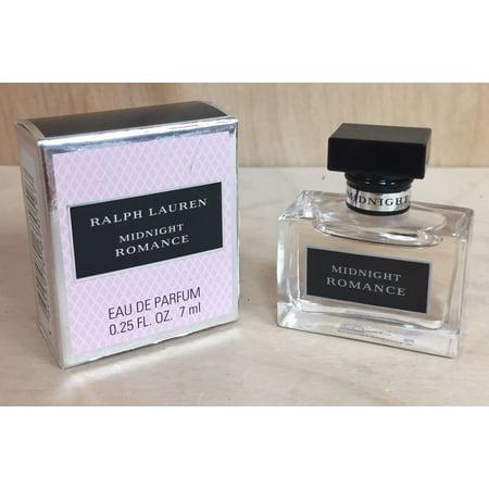 Midnight Romance Ralph Lauren Eau de Parfum 0.25oz 7ml Mini (Romance Ralph Lauren Cream)