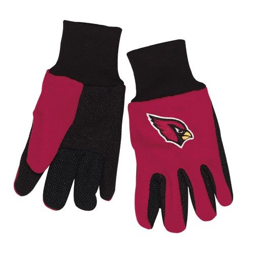 Arizona Cardinals Two Tone Gloves Youth Size by Wincraft, Inc.
