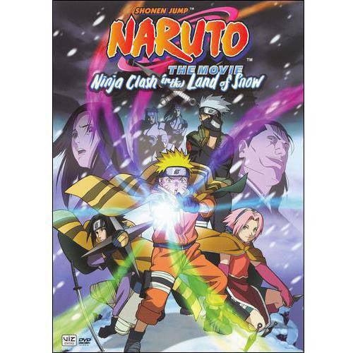 Naruto The Movie: Ninja Clash In The Land Of Snow (Japanese)