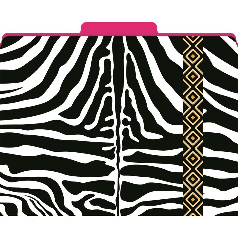 FUNCTIONAL FILE FOLDERS ZEBRA