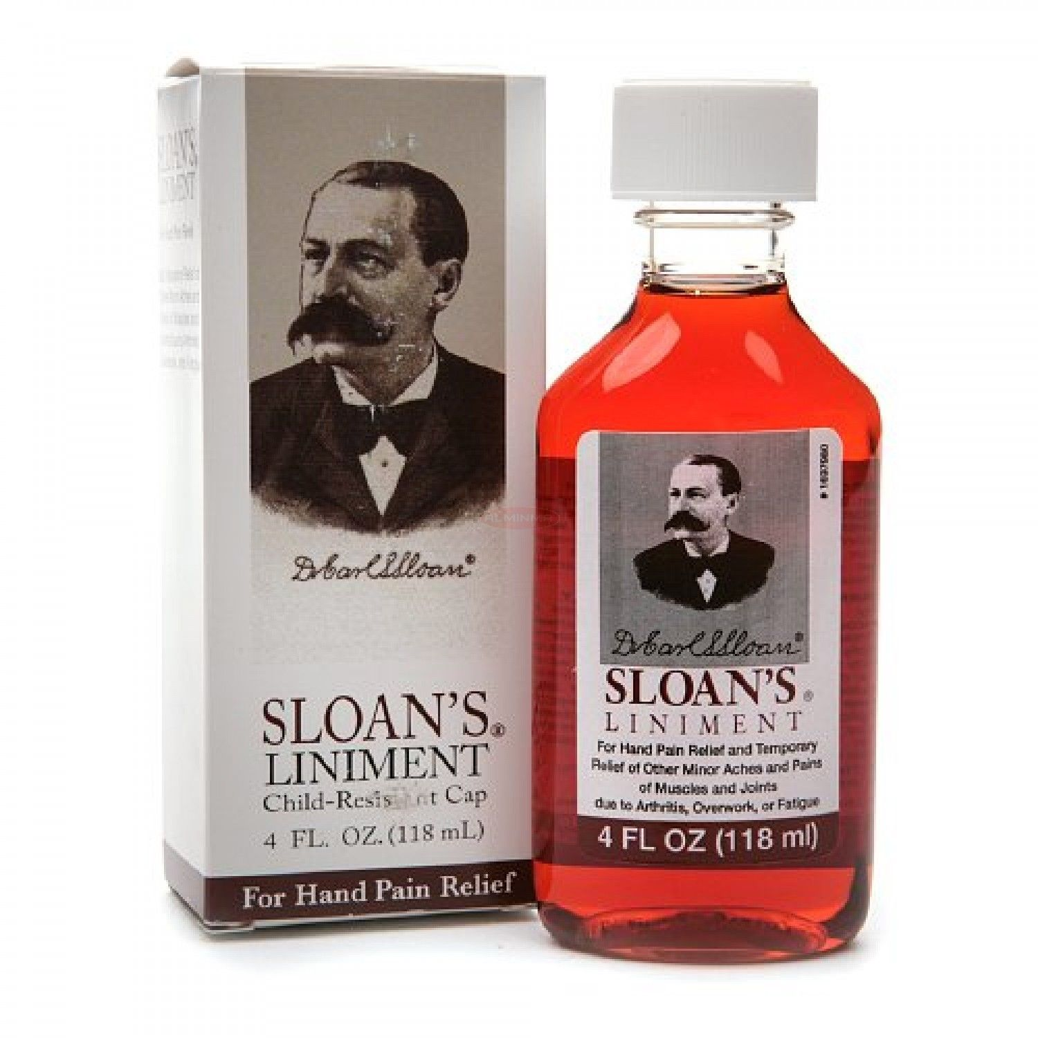 2 Pack - Sloan's Liniment For Hand Pain Relief 4oz Each