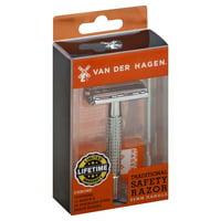 Van Der Hagen Traditional Safety Razor 1pack