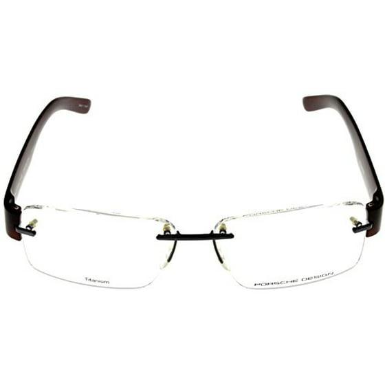 383637d570 Porsche Design Prescription Eyeglasses Frames Titanium Frames Men P8206 C  53 Rimless Size  Lens  Bridge  Temple  53-14-140-35 - Walmart.com
