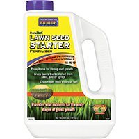 Bonide 60450 Lawn Seed Starter Fertilizer, 4 lb (Best Time To Seed Lawn In Nc)