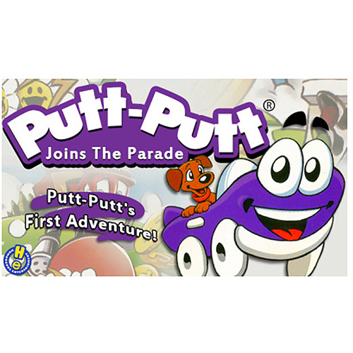 Tommo 58411037 Putt-Putt Joins the Parade (PC/MAC) (Digital Code)