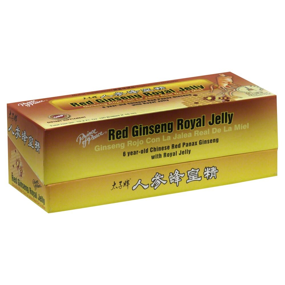 Prince Of Peace Red Ginseng Royal Jelly, 30 Ct