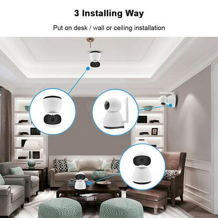 DIGOO 1080P Home Security IP Camera Wireless Smart WiFi Audio CCTV Camera, Night vision,Two-way audio,APP Remote Wireless Surveillance - image 3 de 10