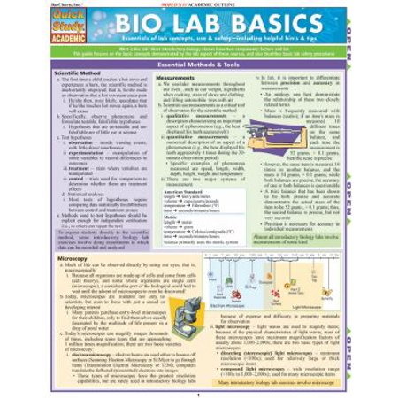 Bio Lab Basics Reference Guide