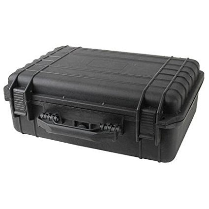"22-24115 Tactical ABS Weatherproof Equipment Case 18"" Wide, Black; 17 x 11.5 x 6 inches; Customizable Foam Insert, Tactical Weatherproof Equipment Case 18"" Wide,.., By Multicomp"