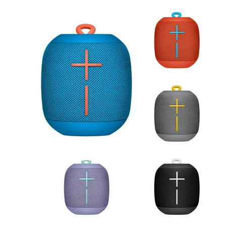 UE Wonderboom by Ultimate Ears IPX7 Waterproof Bluetooth Speaker w/ 10-Hour Battery Life & 360-degree sound (Refurbished) - Subzero