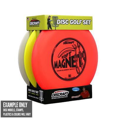 Discraft Beginner Disc Golf Set (Disc models and colors may