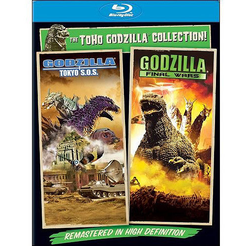 Godzilla: Final Wars / Godzilla: Tokyo S.O.S (Blu-ray) (With INSTAWATCH) (Anamorphic Widescreen)