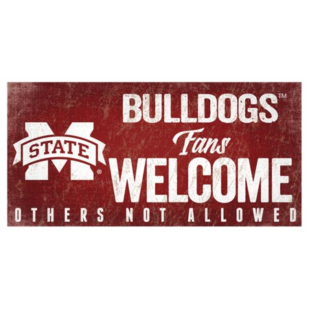 Fan Creations NCAA Fans Welcome Sign