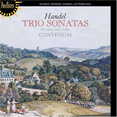 G.F. Handel - Handel: Trio Sonatas for Oboe and Violin [CD]