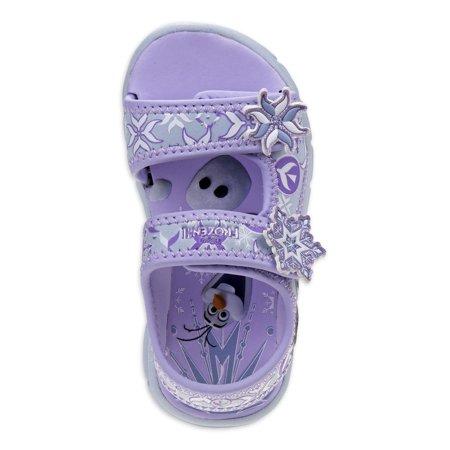 Disney Frozen 2 Elsa & Anna Outdoor Adventure Open Toe Sandals (Toddler Girls)