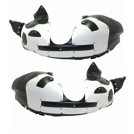 16-19 Explorer Front Splash Shield Inner Fender Liner with Insulation SET PAIR