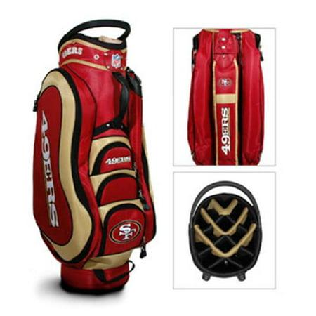 Team Golf NFL San Francisco 49Ers Medalist Golf Cart Bag