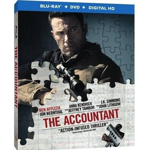 The Accountant (Blu-ray   DVD   Digital HD With UltraViolet   VUDU Digital Copy) (Walmart Exclusive) (With INSTAWATCH) (Widescreen)