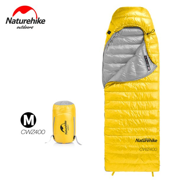 CVLIFE Lightweight Sleeping Bags Camping Waterproof Winter Warm Envelope Portable Down Sleeping Bag for Camping Hiking Exporing -5 Degree
