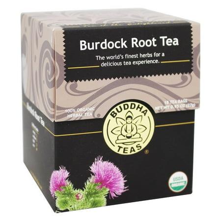 Buddha Teas - 100% Tisane bardane Organic Root - 18 sachets de thé