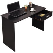 Costway Wood Computer Desk Laptop Pc Table Workstation Study Home Office Furniture
