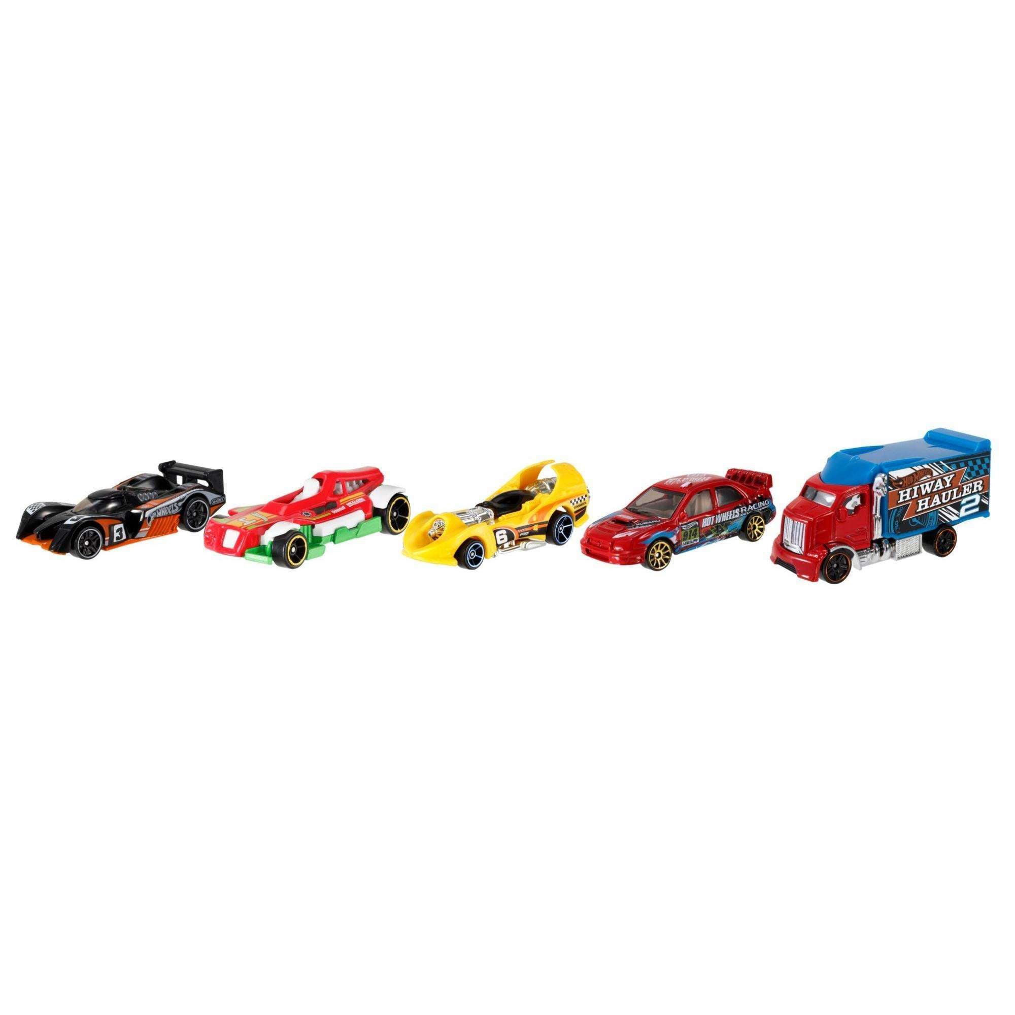 Hot Wheels 5-Car Gift Pack (Styles May Vary) - Walmart.com