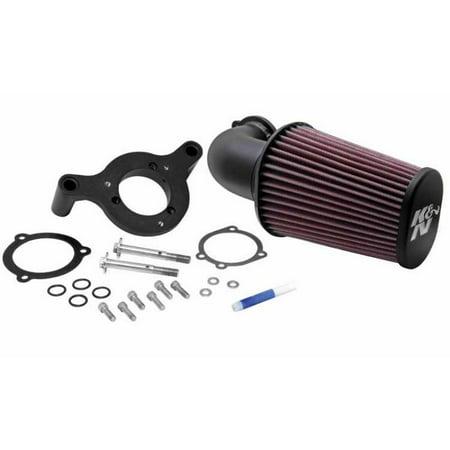 - K&N 01-10 Harley Davidson FX / FL Aircharger Performance Intake