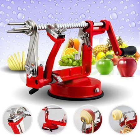 Katxon 3 in 1 Apple Slinky Machine Peeler Potato Fruit Cutter Slicer Kitchen Tool New