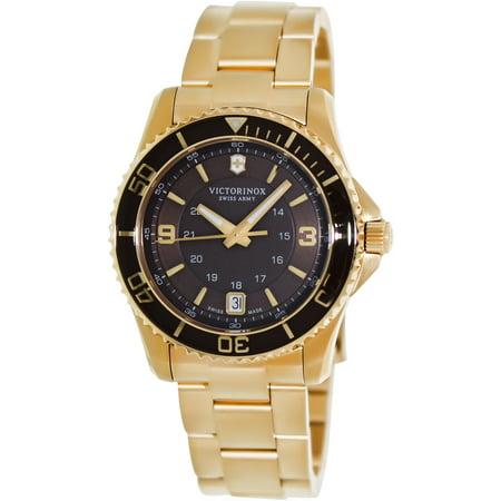 Victorinox Swiss Army Women S Maverick Gs 241614 Rose Gold Stainless Steel Quartz Fashion Watch