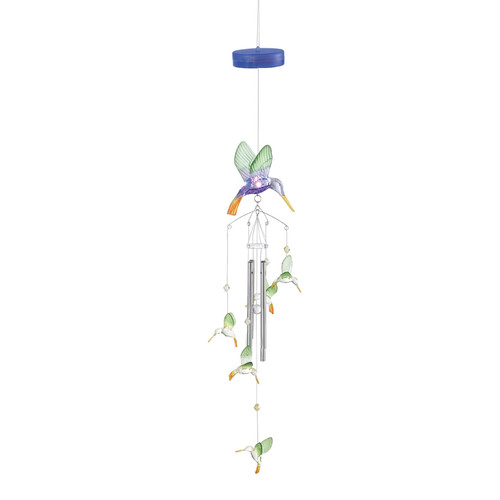Zingz & Thingz Hummingbird Color Change Wind Chime by Home Locomotion