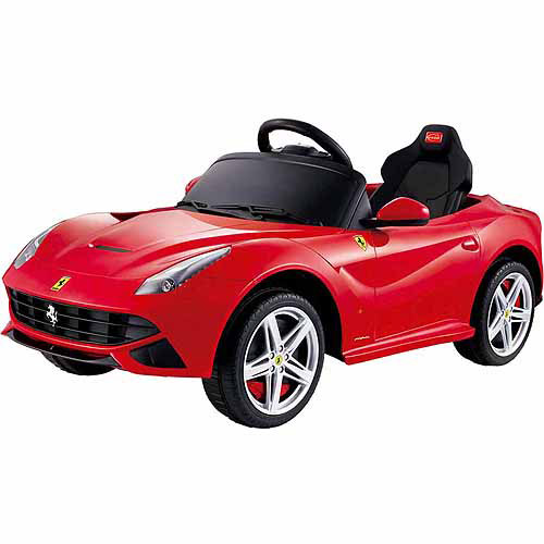 Rastar Ferrari F12 12-Volt Battery-Powered Ride-On, Red