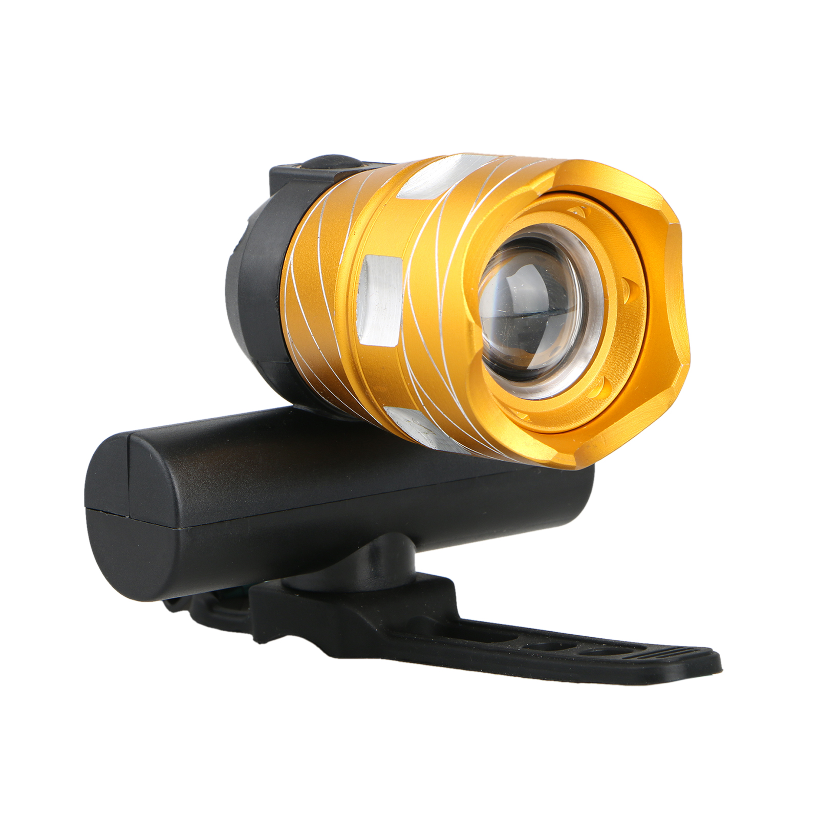 Bike T6 Headlight, Super Bright 500 Lumens CREE LED Cycling Bicycle Head Light, Waterproof Zoom Torch Lamp, with USB Cable