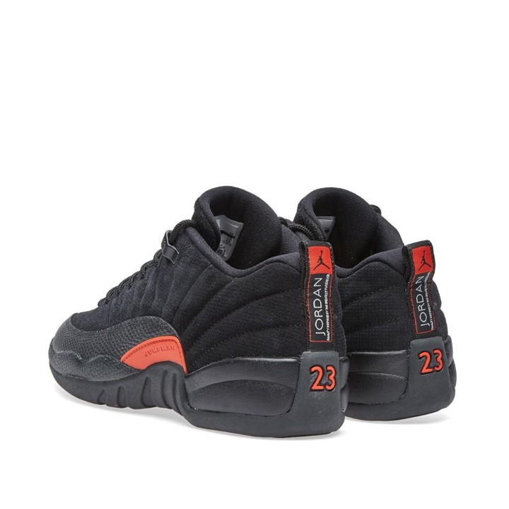 Air Jordan - Unisex - Air Jordan 12 Retro Low Bg (Gs) 'Max Orange' - 308305-003 - Size 4 - image 1 de 2