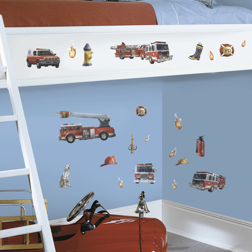 Wallhogs Fire Brigade Wall Decal